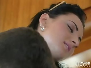 Jeanette enjoys dp in a gangbang