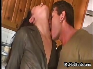 London is a hot milf with a hairy pussy shes Th