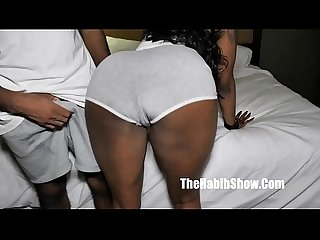 The sexy thick phat juicy booty Ms. FeedMe fucked by Zsur Cummings