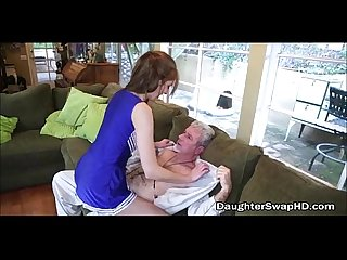 Dad's Swap Their Teen Cheerleader Daughters For Fucking - DaughterSwapHD.com