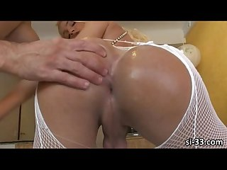 Slim tranny bombshell dany de castro gets her yummy ass drillled