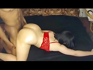 Sexy latina fuck big dick