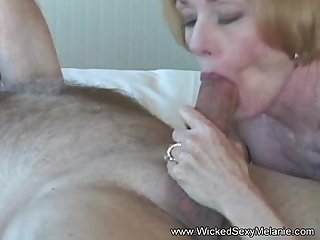 Grannie Suck Fuck and Gooey Facial