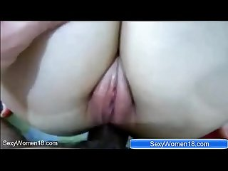 First time Girlfriend try Anal sex in home on SexyWomen18.com