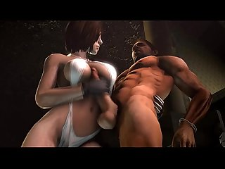 Jill valentine and friends resident evil 3d hd