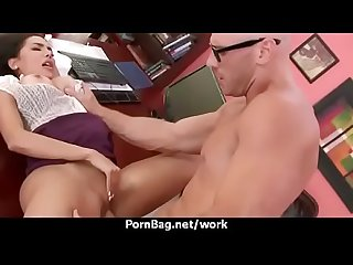 Office sex with busty women at work 28