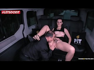 Russian babe gets drilled hardcore by the uber driver lpar george uhl sarah highlight rpar