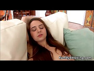 Step dad loves his teen daughters tits familystroking com
