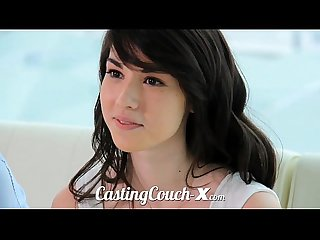 Casting couch x high school sweethearts start in porn