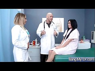 Hard sex in doctor office with horny patient mov 27
