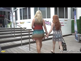 Penny pax S first ever video with milf vicky vette