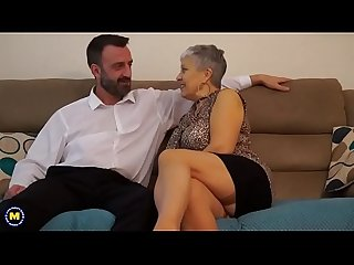 British mature lady fucking and sucking