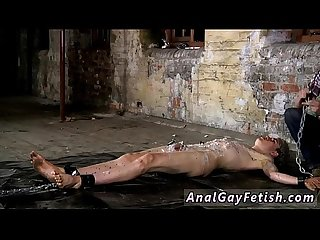 Movies free de gay Twinks chained to the warehouse floor and
