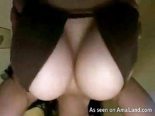 Bitch sucks huge dick in revenge video