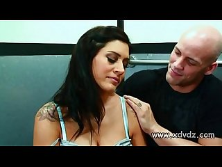 Raylene finds being trapped in elevator with a guy exciting when he starts pound