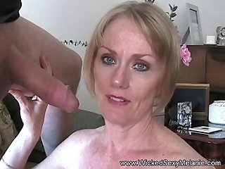 Gmilf amateur blowjob facial