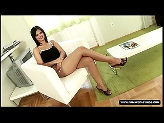 Black angelika is ready for our anal casting