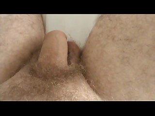 Complete masturbation uncut