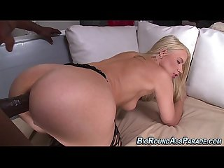 Big butt blonde assfucked