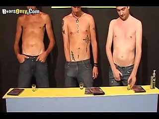 Three Hunks Wanking Togetherearsonly 9 part1