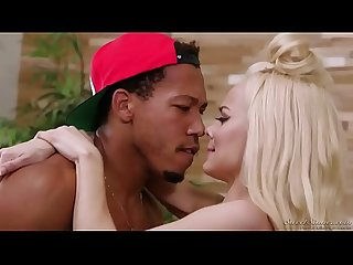 Elsa Jean With Black Guy
