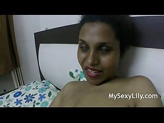Horny Lily Big Indian Tits Squeezed