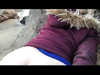 Raw amateur sex on the beach at sunset - Erin Electra