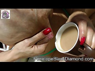 Penelope Black Diamond Outdoor Piss Milk Blowjob Preview