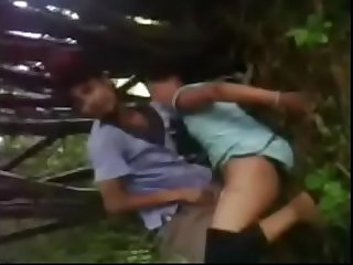 Outdoor sex Desi porn video of cheating Bhabhi geeta
