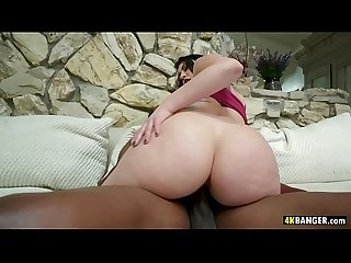 BBC Firmly Wedged into Mandy Muse's Tight Ass!