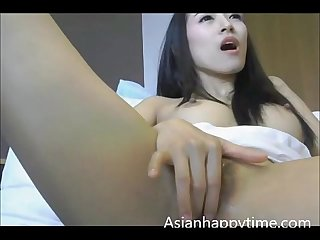 Asian Solo Masturbation Squirt Cum