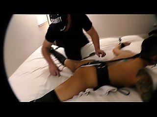 Hog Tied and Face Fucked