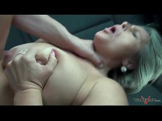 Stepmom get three young strangers dicks in crazy van ride