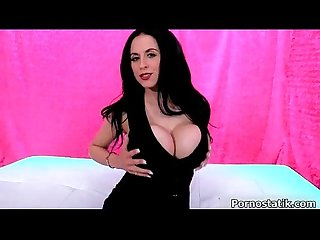 Amazing milf with huge tits Louise