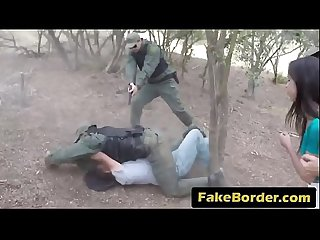 Teen illegal immigrant banged on border