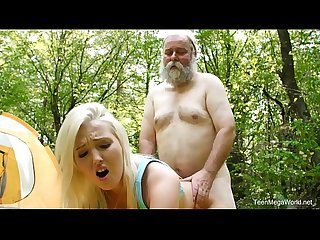Old n young com lovita fate mushroom hunter picks up blonde pussy