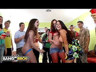 Bangbros dorm invasion surprise party with diamond kitty jynx maze and jada stevens