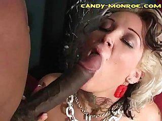 Black dick chubby white cunt