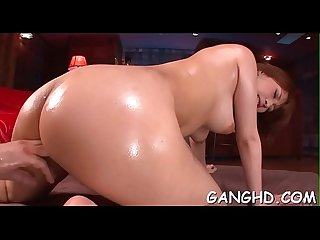 Lusty japanese group fucking