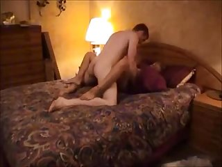 Blonde babe gets fucked on real homemade