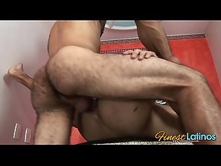 Horny latin studs intimate fuck session