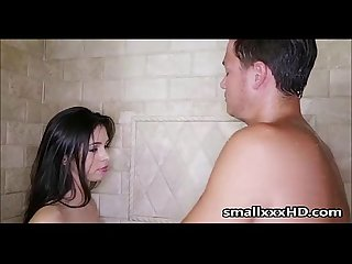 Caught my teen step sister masturbating in shower smallxxxhd com