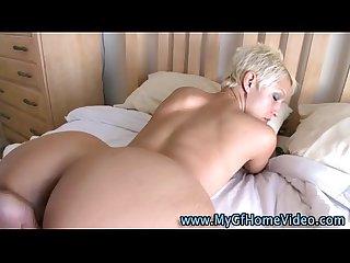 Dirty Real blonde Girlfriend
