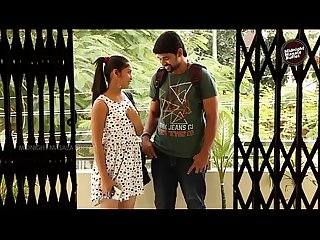 Indian young girl romanced with college ex boyfriend 2015 mamatha hot short film