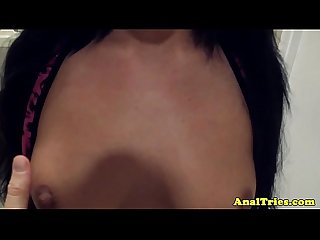 Anal loving bikini babe assfucked deeply