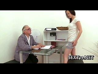 Teacher tasting A chaste pussy