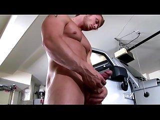 Yummy muscular jock tugs