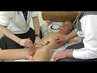 Twink Dakota edging and tickle session