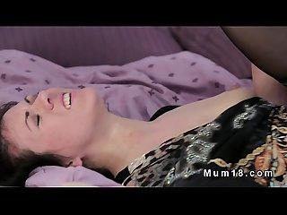 Hirsute pussy milf banging