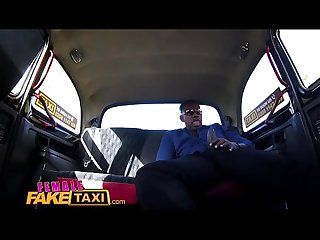 Female Fake Taxi Big black cock stretches Licky Lex sweet Czech pussy